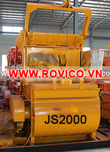 Máy trộn bê tông JS2000